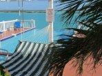 Pool, Hammock, Chalk Sound
