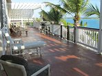 Upper Sun Deck & Coconut trees within reach