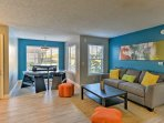 Up to 8 guests can retreat to this 1,026-square-foot condo after a day at Walt Disney World.