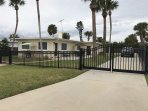 Immaculate Two unit House across of street from Beach-completely fenced in-beautiful aluminum Gates