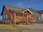 Take a break from city life in this cozy 3-bedroom, 2.5-bathroom vacation rental cabin in Pine Lake, Alberta.