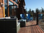 Lots of deck furniture