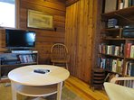TV room at Frances Louis House