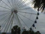 The famous 'Skywheel' a short walk down the boulevard.