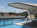 Beautiful, calming pool side relaxing area