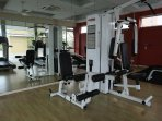 If you feel like exercising, head over to our gym!