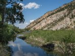 Enjoy exclusive access to the Yellowstone River!
