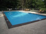 Community swimming pool available Memorial to Labor Day weekend no charge
