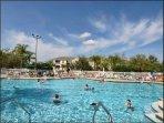 clubhouse pool (2min walk  away)