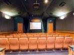 movie theater (2min walk away0