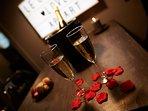 Crystal love Appart pour une soirée romantique en couple.