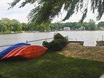 Kayaks, fishing docks hot tub, pool table campfire beaches and plenty of fresh air ....await you