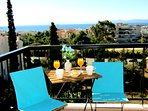Master bedroom balcony Sea View