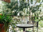 Nice balcony for your bellavista staying also a breakfast besides your studio is a fine option