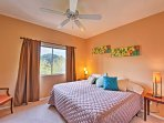 Choose from one of the 2 bedrooms to call your own during your stay.