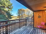 This home features 6 separate balconies for you to enjoy the views of Mt. Antero and surrounding forest terrain!