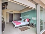 You'll have direct access to a private balcony from the master bedroom!