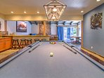 Rack 'em up and take on challengers at the pool table in the clubhouse.