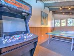 Play a lively game of ping pong or video games in the clubhouse.