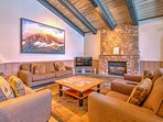 The Chamonix clubhouse is a great place to relax before heading to the condo.