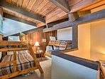 The kids will love having their own space in the loft.