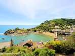Sundale is located in the heart of the Polperro and just 5-6 mins walk from the harbour and beach