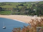 The spectacular Blackpool Sands beach approx. six minutes drive