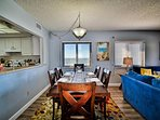 Dine with views of the Gulf of Mexico.