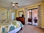 Master bedroom includes walk in closet and en suite bathroom.