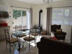 Open plan kitchen/living  cottage