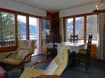 Living room and eat corner