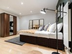 Bed with comfortable Mattress