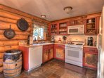 Charming kitchen with an abundance of amenities
