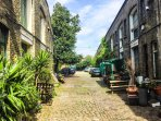 The Pullens Yards, a private cobbled mews