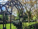 Pullens Gardens, a local park 1 minute walk away.
