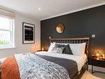 Bedroom 1 with comfortable mattress