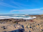The tide pools along the 804 Trail are perfect for watching the crashing waves.