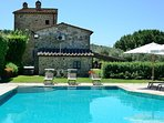 5 bedroom Villa in Fonte Sant'Angelo, Umbria, Italy : ref 5226990