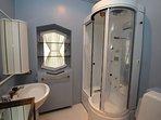 Damson bedroom en suite shower room