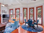 Living/Dining room under The Live Oak