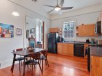 Full Eat in Kitchen with appliances and breakfast nook.
