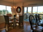Corner unit condo gives you almost 270 degree view of the Gulf