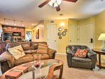 You'll love the open layout of the main living space.