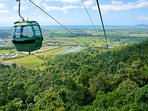 Skyrail-accommodation Cairns-Holiday-House-Trinity-Beach-Getaway