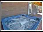 Hot Tub - on back lower deck