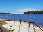 Come and enjoy these views and swim, kayak, canoe or fish.