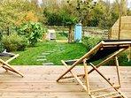Transats côté jardin pour vous relaxer