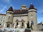 chateau at Aubenas