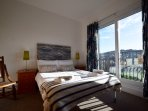 Ensuite bedroom with balcony