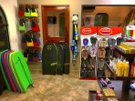Loads of Beach Gear for Rent and Sale at The Frog Pad